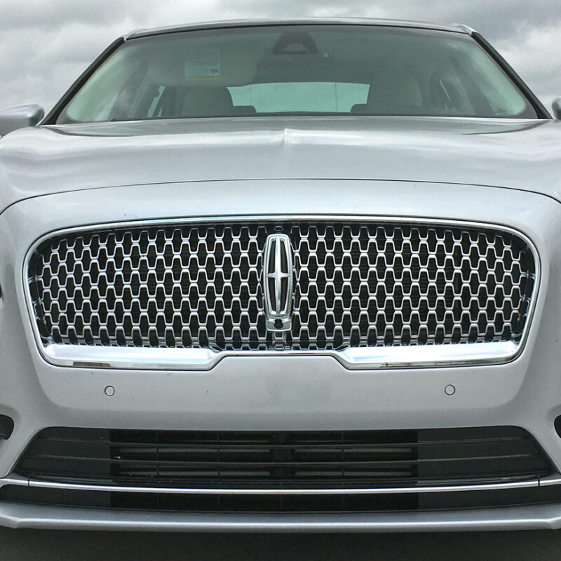 lincoln continental front grille