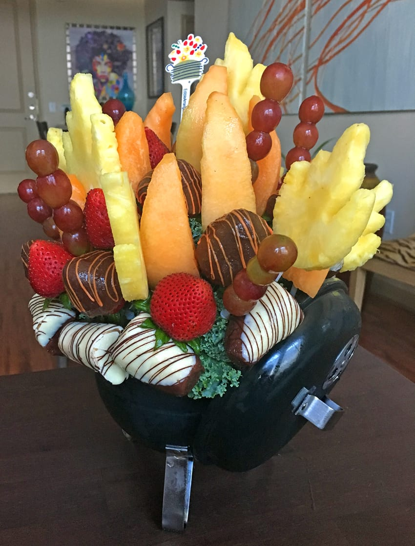Edible Arrangements Fruit and Fire Bouquet