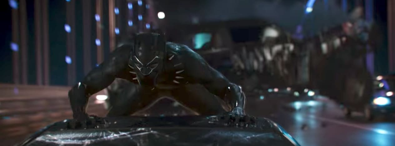 Chadwick Boseman Channels Huey P. Newton in Marvel's Black Panther Poster (+ Bonus Teaser Trailer)