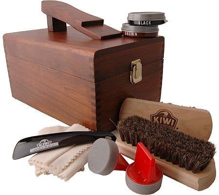 father's day gift ideas shoe shine kit