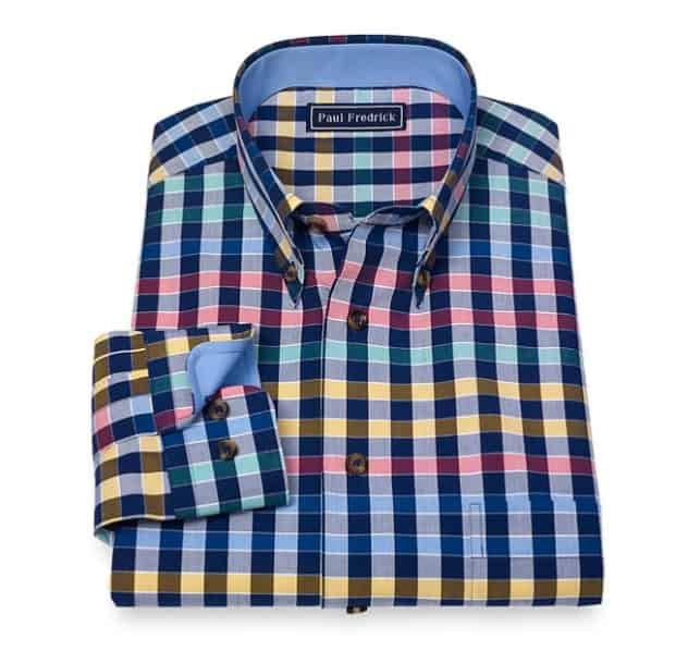 Paul Fredrick Shirt father's day