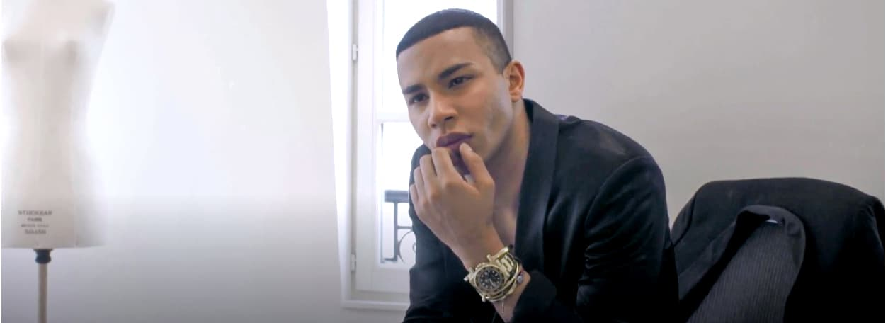 Balmain Creative Director Olivier Rousteing Seeks to Push Boundaries in Fashion