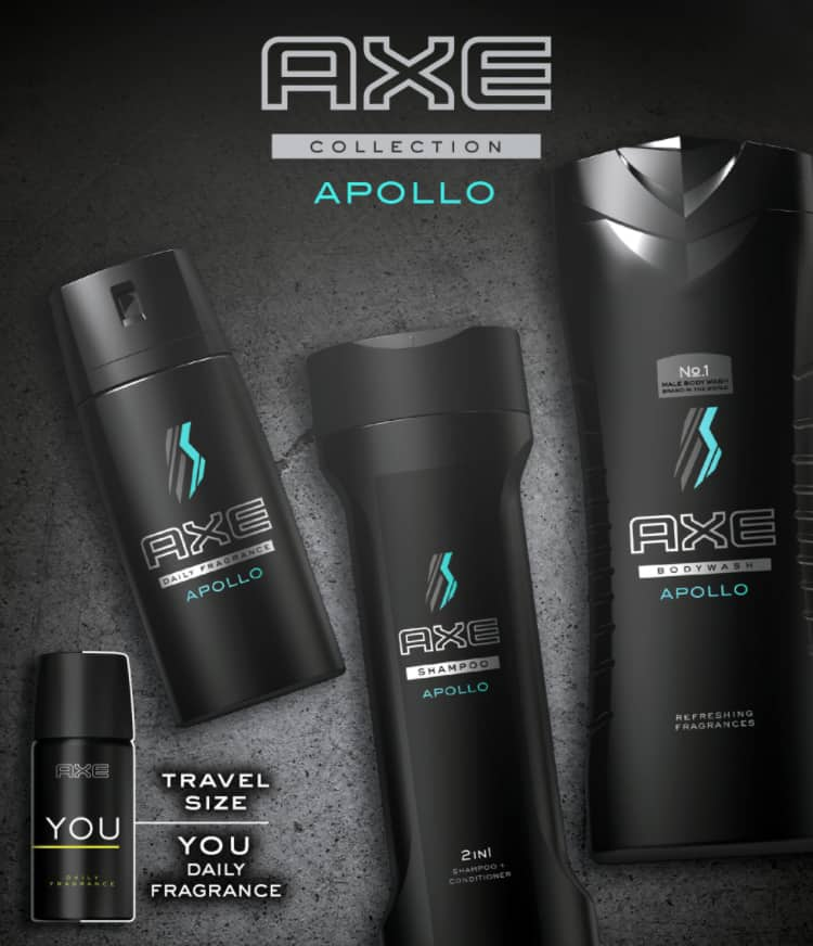 AXE Apollo gift set