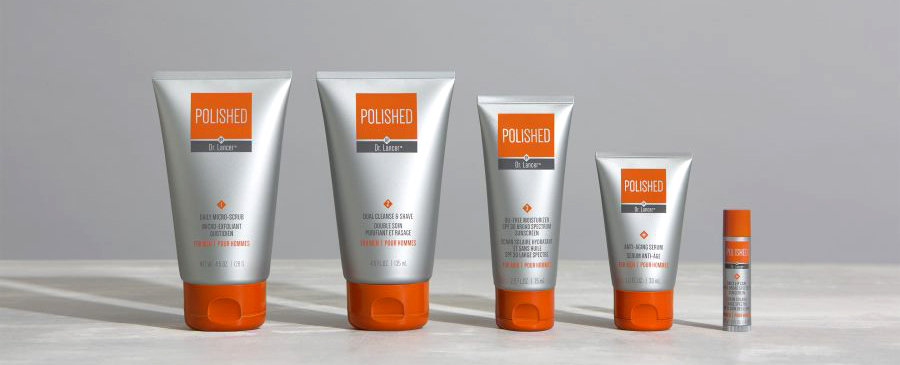 Polished skin care for men Dr. Lancer Ryan Seacrest