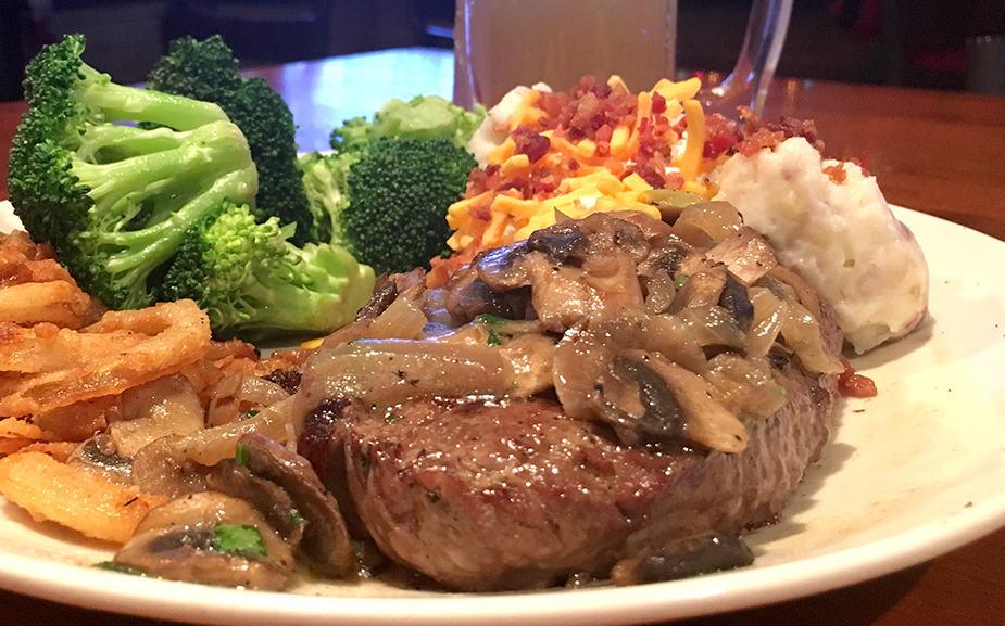 Applebee's steak