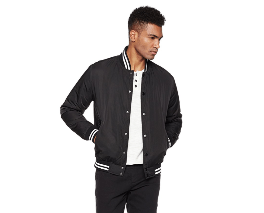Wood Paper Co Bomber Jacket