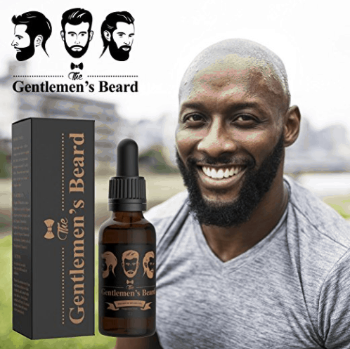 Beard oil for black men