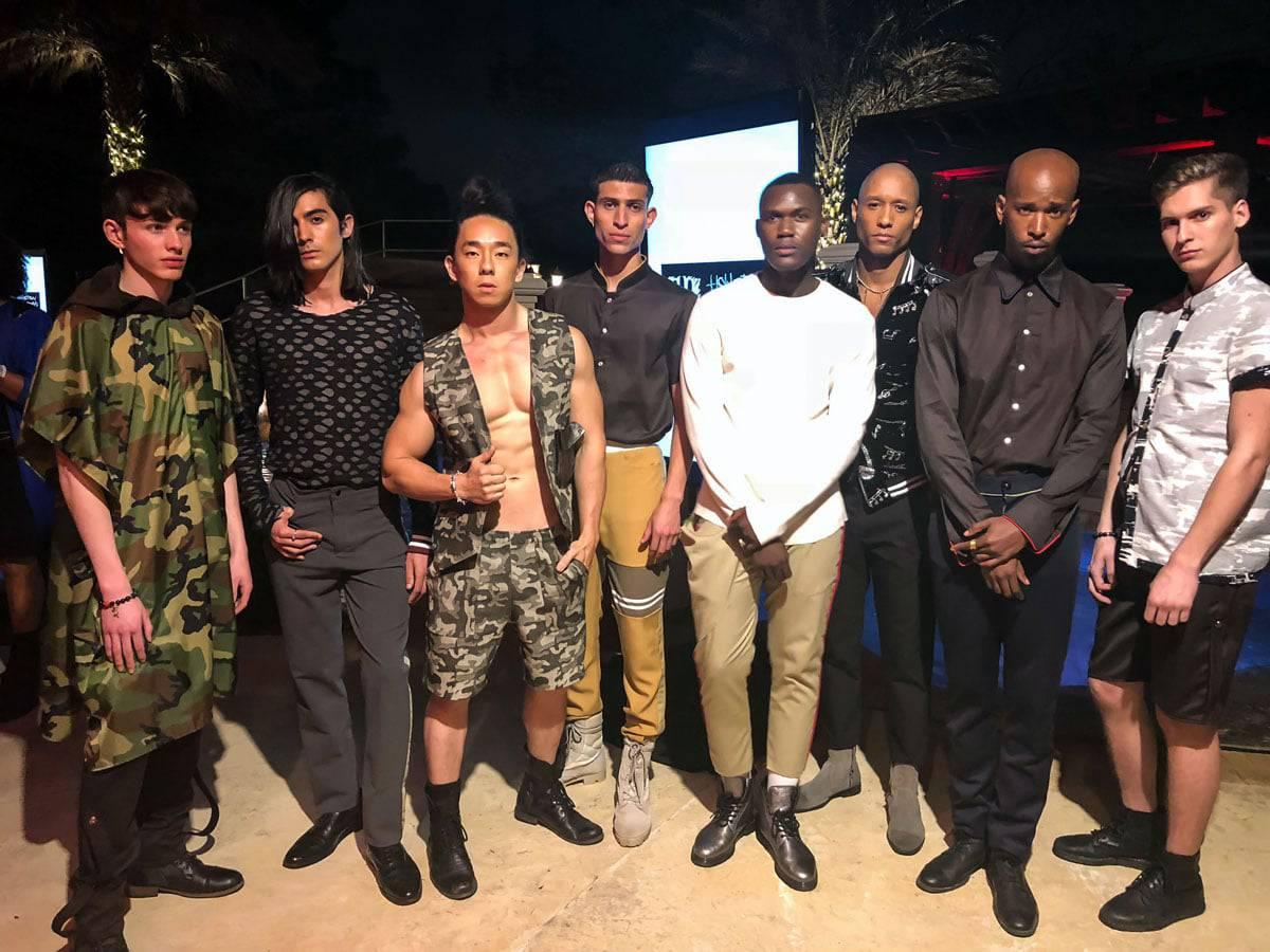 Jamel Hawk Menswear Inception Fashion Show