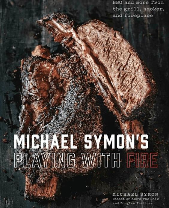 cookbook with smoked prime rib recipe