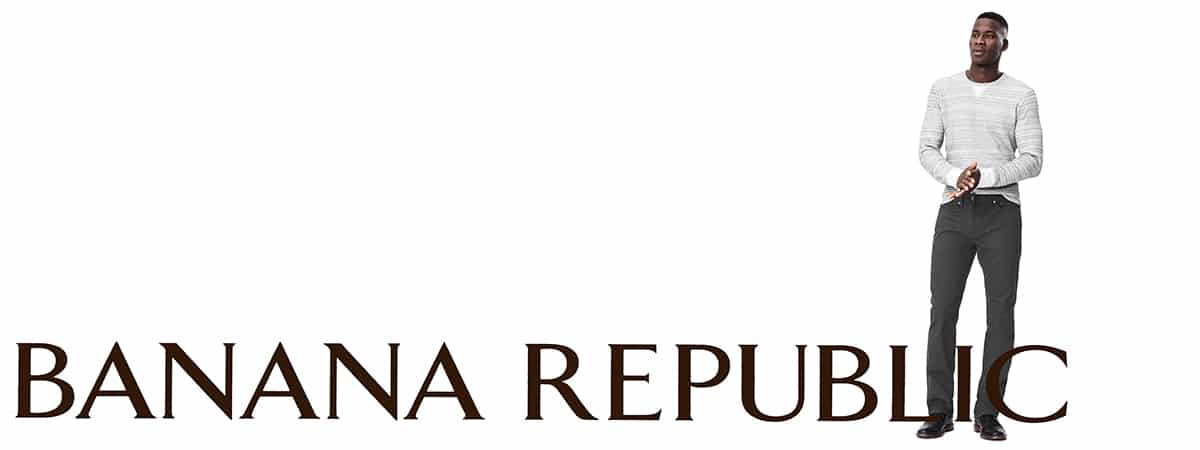 Save Up to 40% off Men's Essentials at Banana Republic
