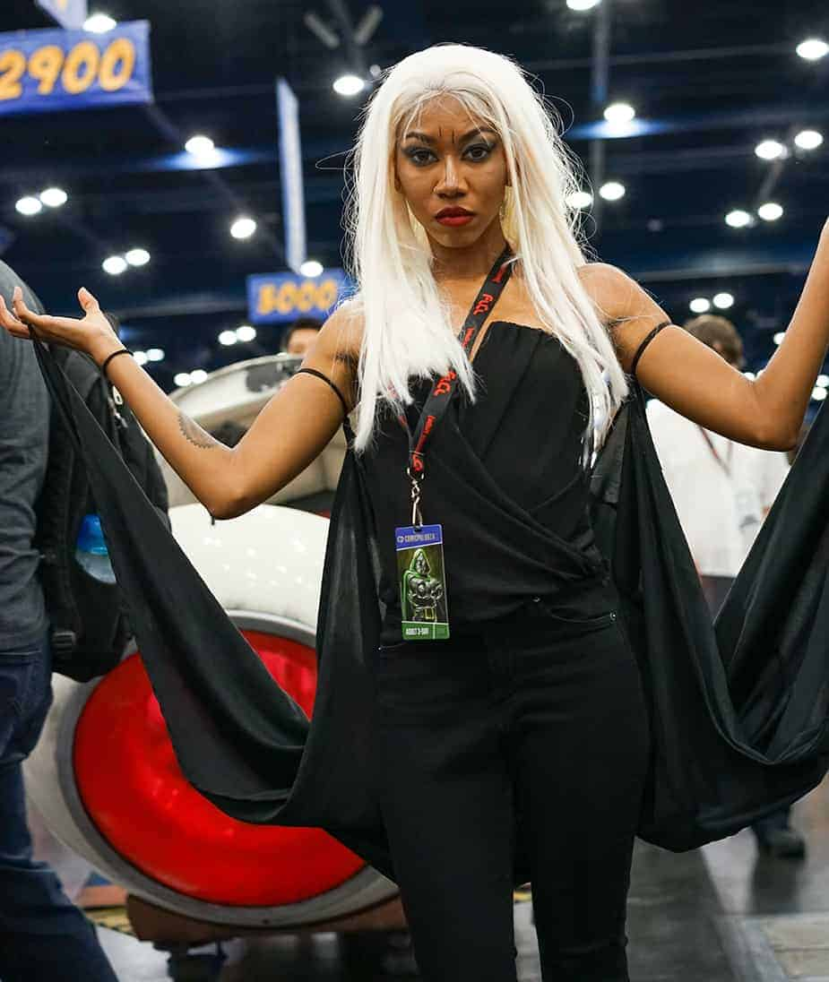 x-men storm african american cosplayer