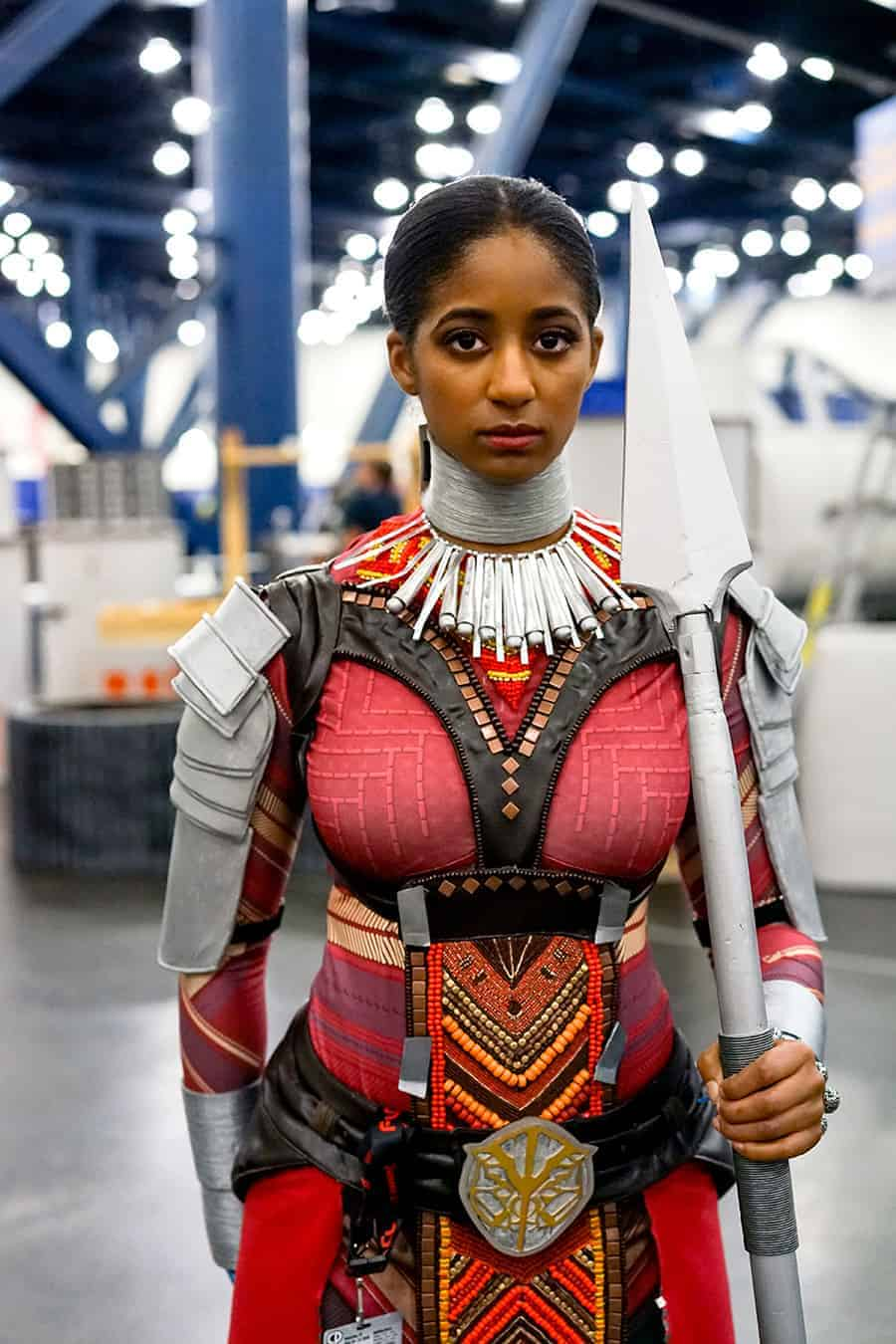 Dora Milaje african american cosplayer