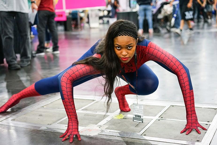 Spiderman African American Cosplay Comicpalooza