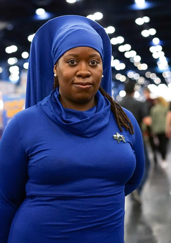 Guinan Star Trek African American Cosplay