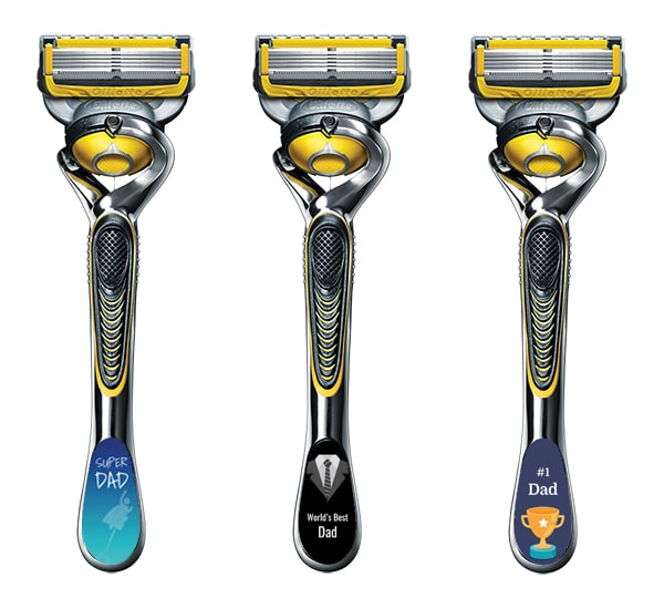 Gillette Personalized Razor