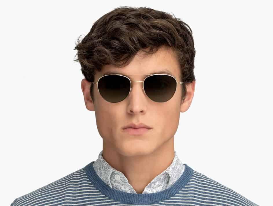 man wearing sunglasses