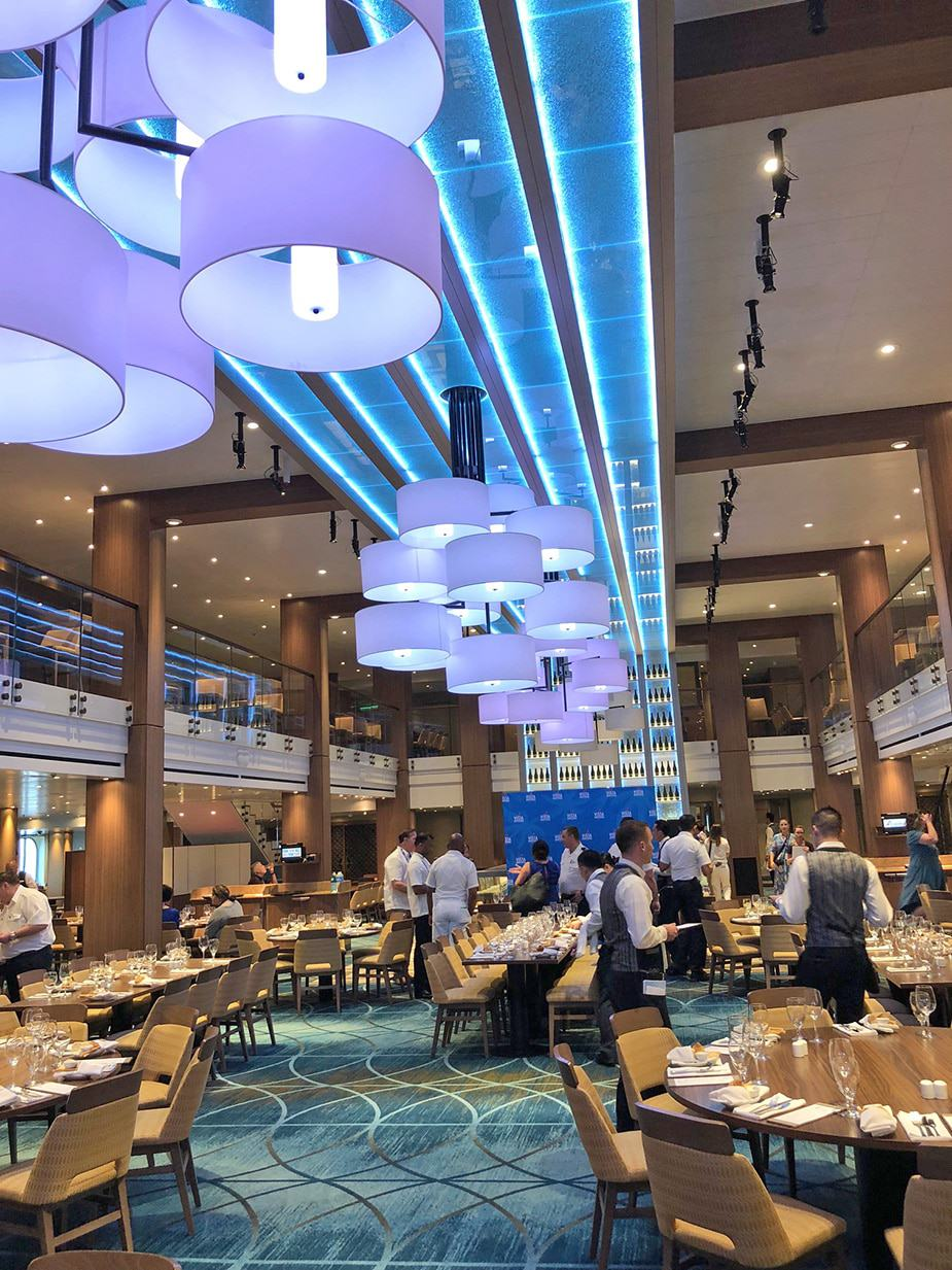 Carnival Vista Dining Room