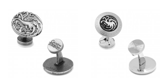 game of thrones cuff links