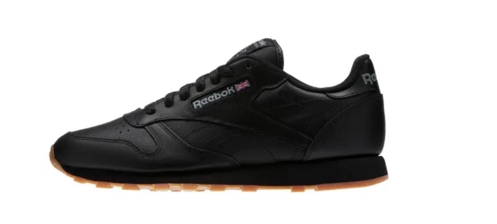 Reebok classic leather senakers black