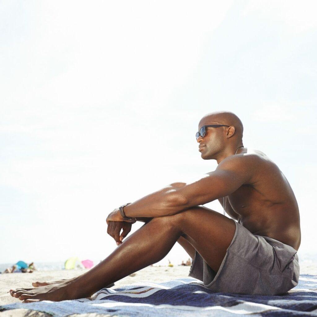 summer skin care for men sunscreen
