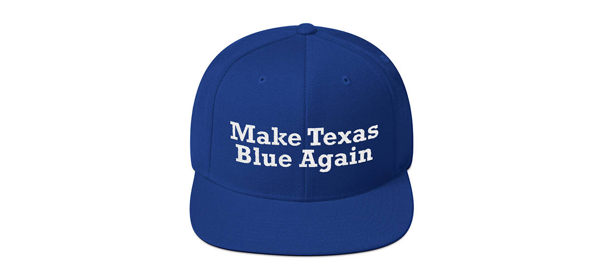 texas turning blue