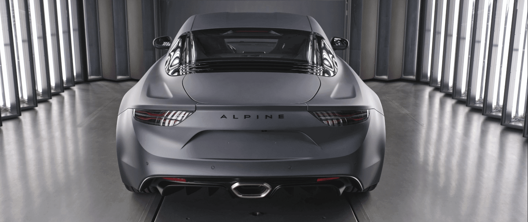 alpine a110s sports car
