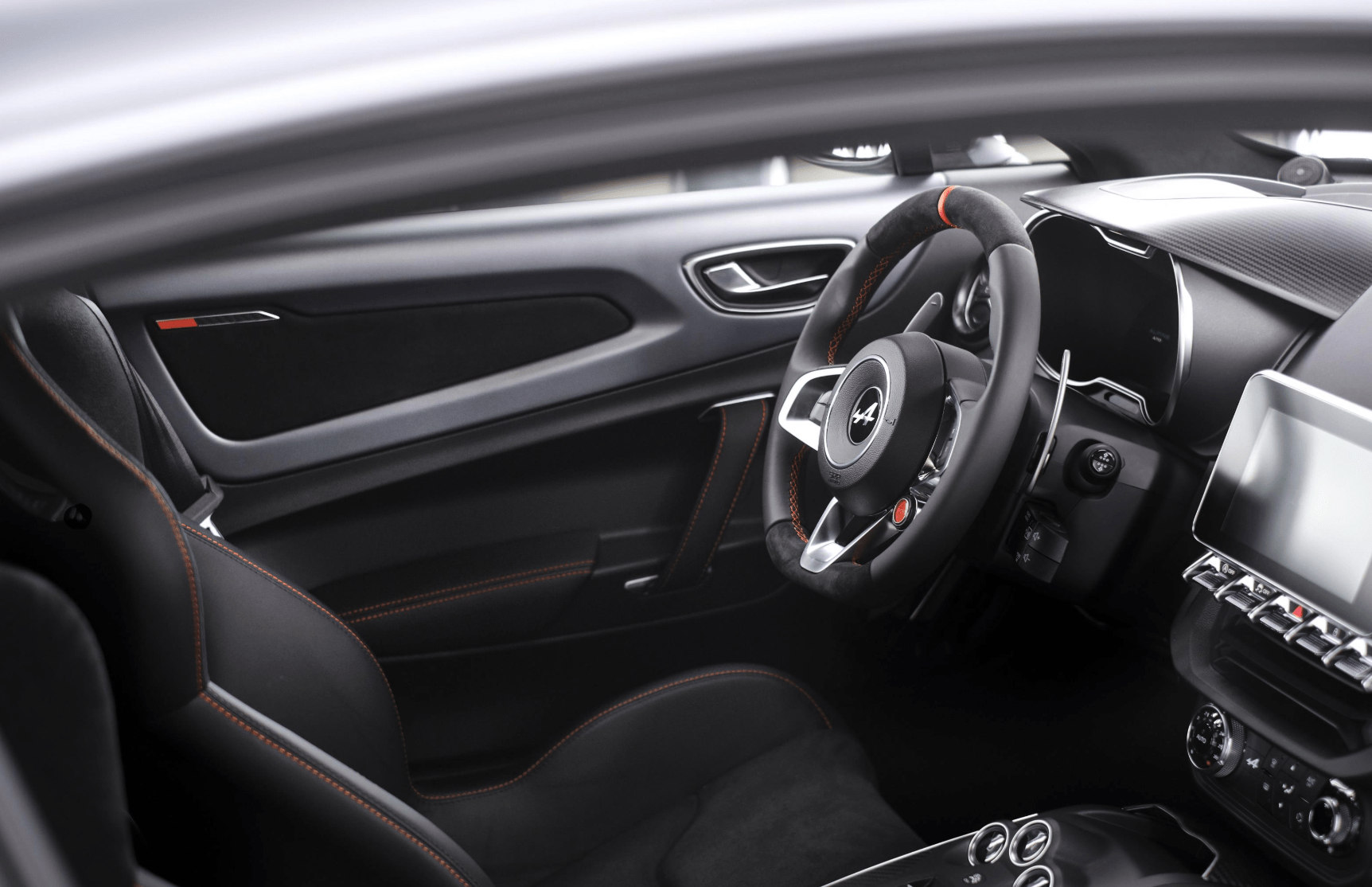 alpine a110s sports car interior