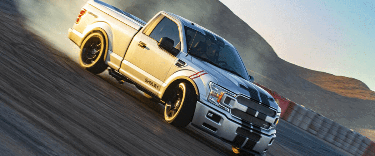shelby supersnake sport ford f-150 pick up truck