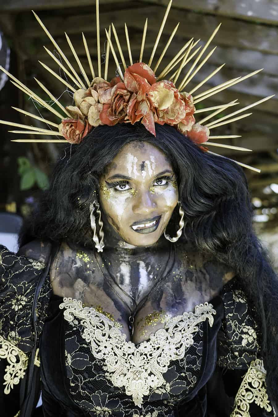 african american cosplayer
