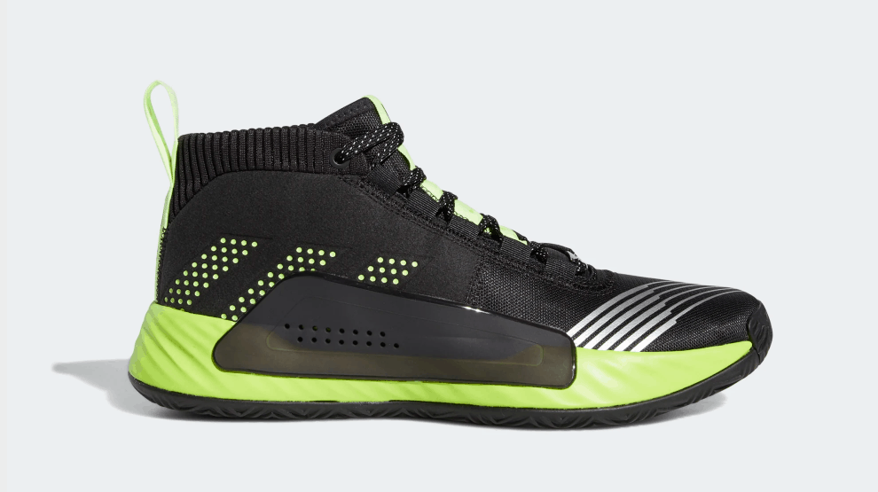 adidas DAME 5 STAR WARS LIGHTSABER GREEN SHOES