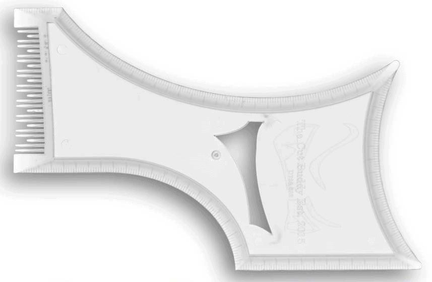 beard shaping template