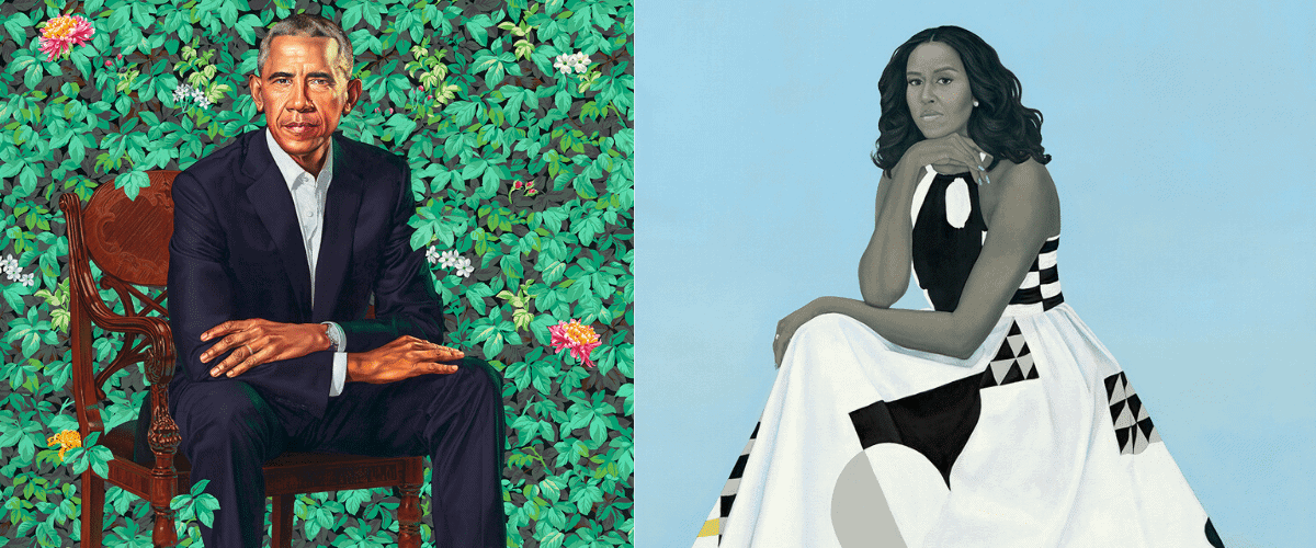 The Obama Portraits to Go on a One-Year, Five-City Tour Starting in June 2021