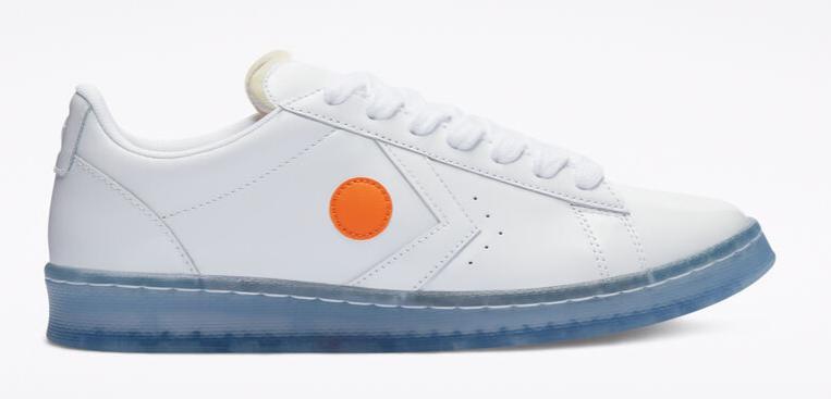converse x rokit pro leather sneaker