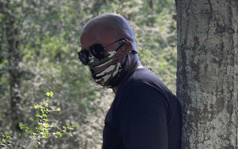 camoflouge fashion mask