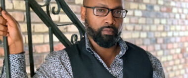 stylish black man