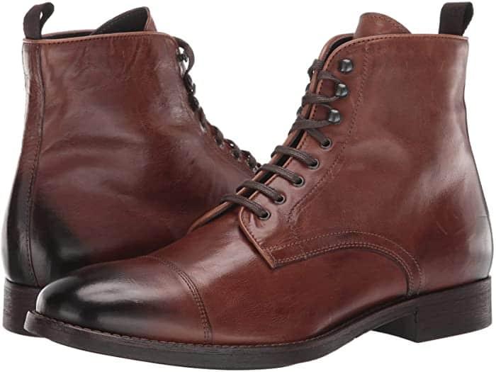 cap toe boots