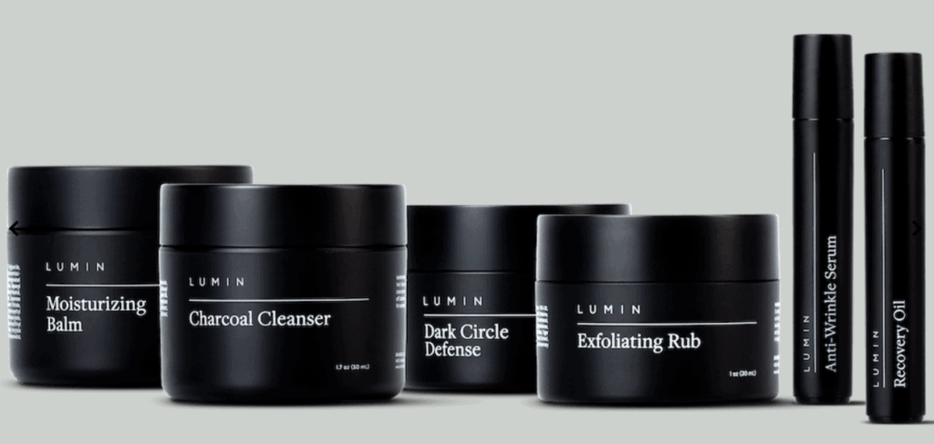 Lumin skincare for men