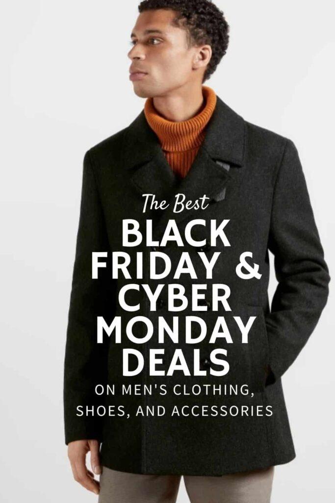 best cyber monday deals on men's clothing