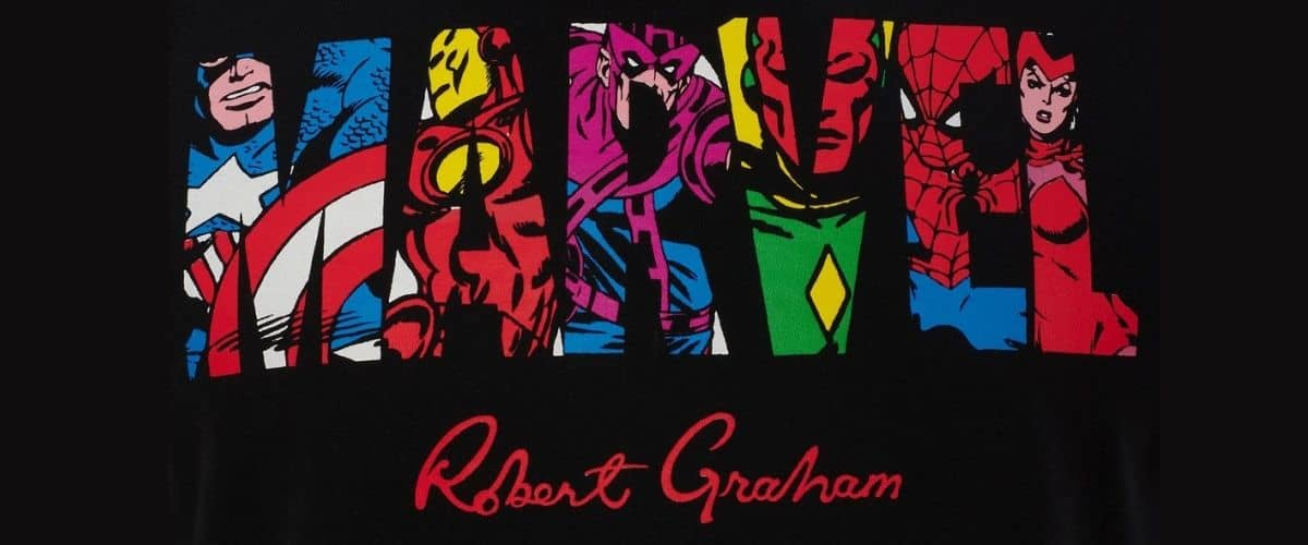 robert graham x marvel