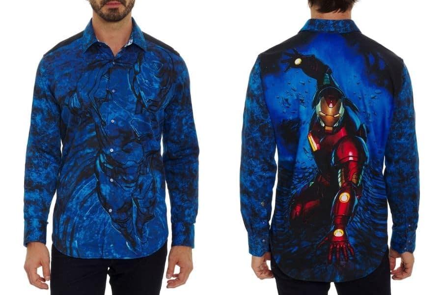 robert graham marvel collection shirt