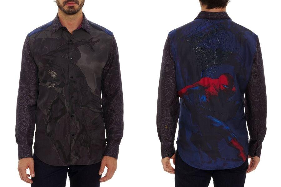 robert graham spider man shirt