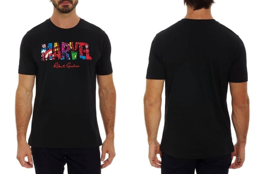 robert graham marvel collection t-shirt