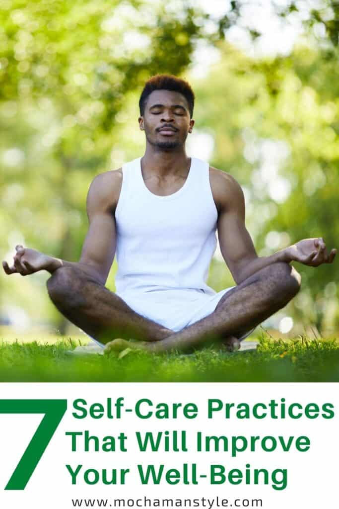self care practices for men