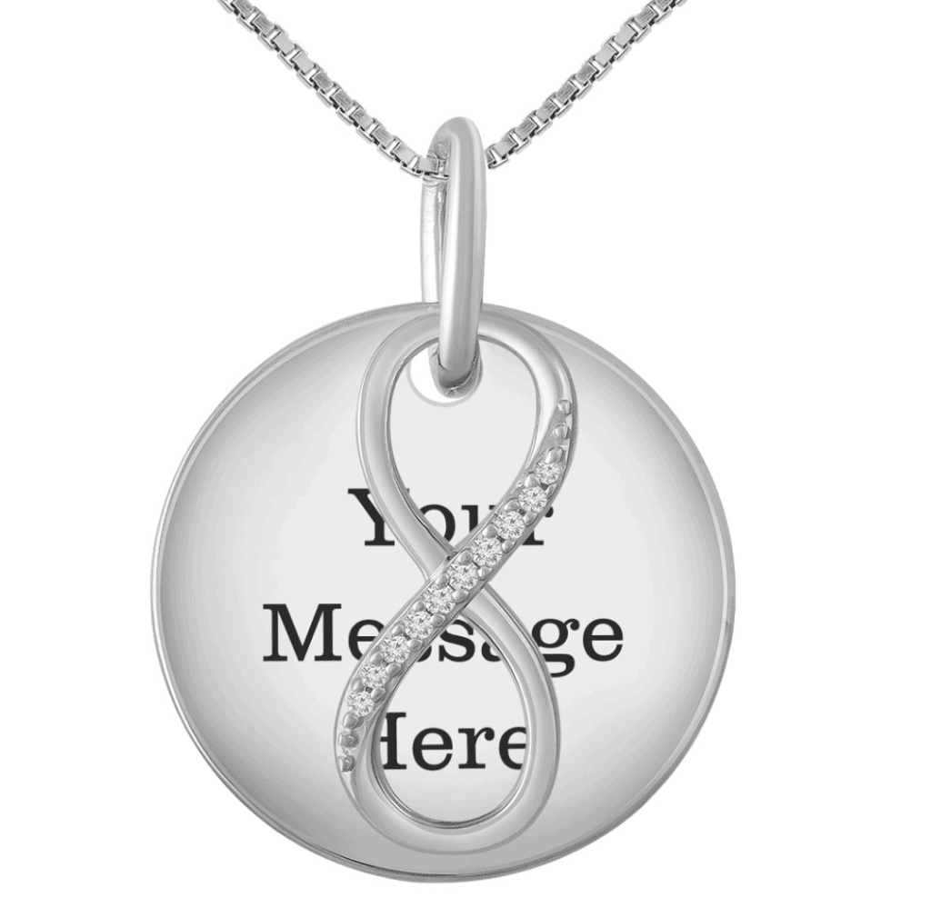 personalized necklace from jared