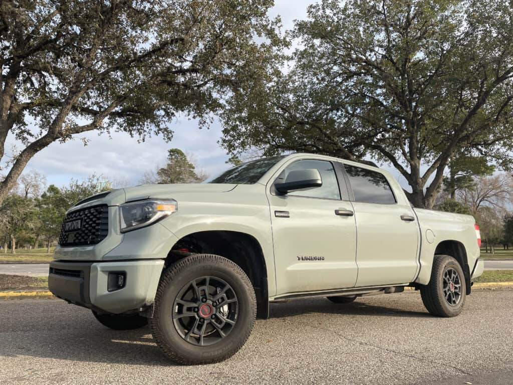 2021 Toyota Tundra TRD Pro CrewMax review
