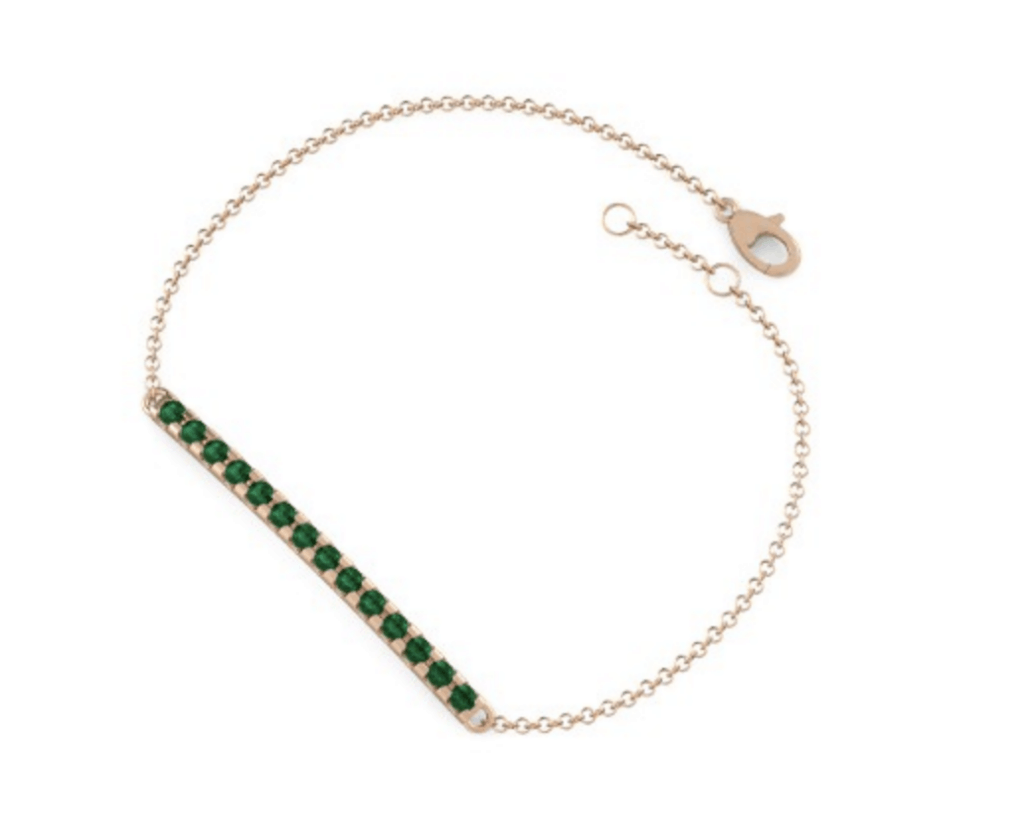 gemvara bar bracelet