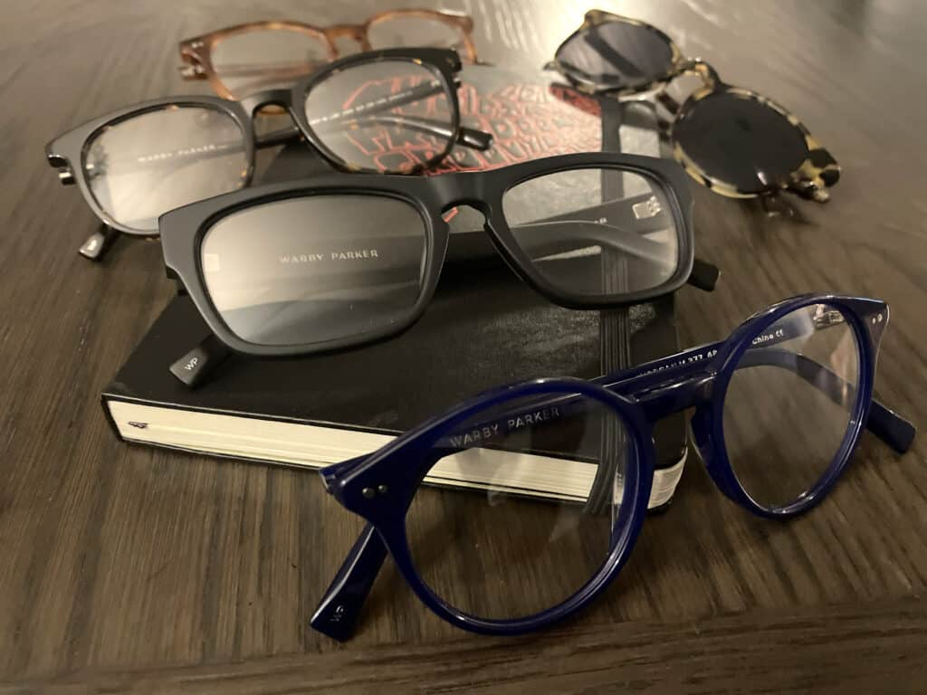 warby parker glasses for guys