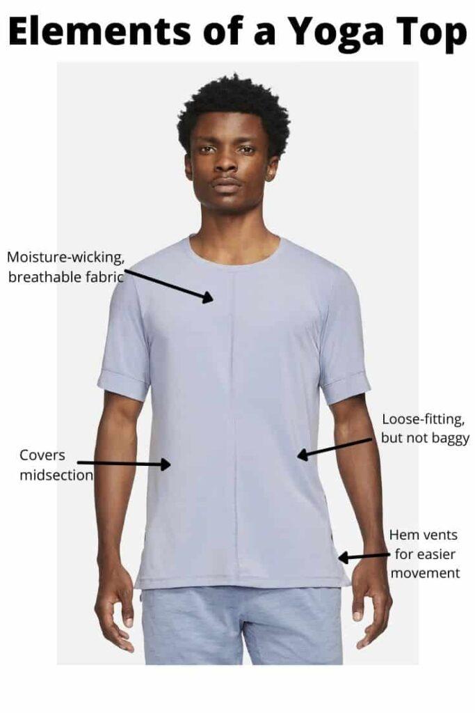 yoga shirt for men