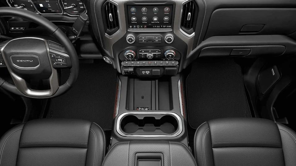 gmc sierra 1500 interior balck