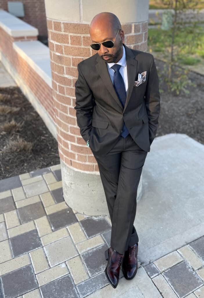 men's suit at Zappos